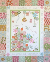 Tilda - Bumblebee - The Quilting Bee Quilt Kit by Petals and Patches (FABRIC KIT EXCLUDING THE PATTERN)