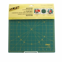 OLFA - Spinning Square Cutting Mat 12in