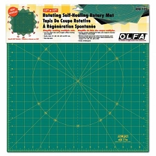 OLFA - Spinning Square Cutting Mat 17in