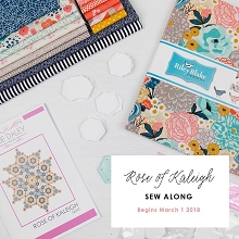 Sue Daley Designs - Rose of Kaleigh Pattern and Template and Fabric Kit