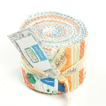 Riley Blake Designs - Scenic Route - 2.5 Inch Rolie Polie of 18 Fabrics