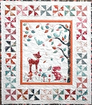 Petals & Patches - Sleepy Hollow Quilt Kit in Tilda Fabrics