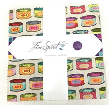 Freespirit - Tabby Road by Tula Pink - Precut 10 Inch Squares Bundle of 42 Pieces