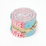 Riley Blake Designs - Teddy Bears Picnic - 2.5 Inch Rolie Polie of 18 fabrics