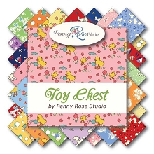 Penny Rose Fabrics - Toy Chest - Half Metre Bundle of 24 Pieces
