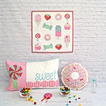 Tied With A Ribbon - Sweet Treats Mini Quilt/Cushion Pattern