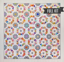 Sue Daley's - Windchime Quilt Kit including Fabrics and Pattern
