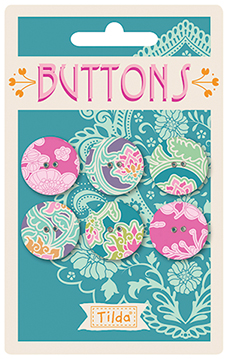 Tilda - Sunkiss - Buttons 20mm  *** PRE-ORDER - ARRIVING 1ST MAY 2018 ***