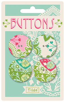 Tilda - Sunkiss - Buttons 28mm  *** PRE-ORDER - ARRIVING 1ST MAY 2018 ***