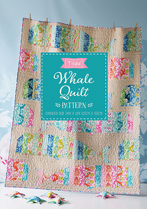 Tilda - Sunkiss - Whale Quilt Kit *** PRE-ORDER - ARRIVING 1ST MAY 2018 ***