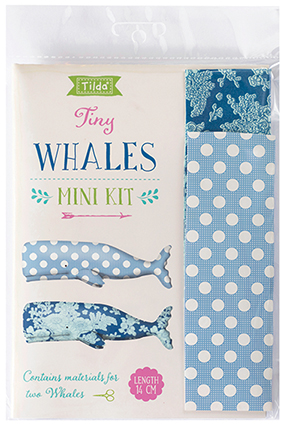 Tilda - Sunkiss - Tiny Whales Kit  *** PRE-ORDER - ARRIVING 1ST MAY 2018 ***