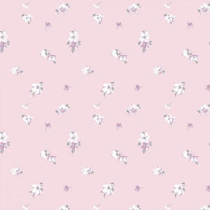 Camelot Fabrics - The Grace Collection by Laura Ashley - Abbeville in Pink