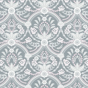 Camelot Fabrics - The Grace Collection by Laura Ashley - Almieda in Grey