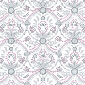 Camelot Fabrics - The Grace Collection by Laura Ashley - Almieda in White