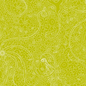 Andover Fabrics - Sun Print 2018 Depths in Pear