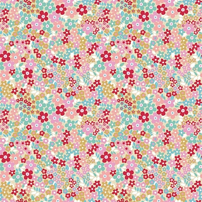 Riley Blake Designs - Forget Me Not Fields Red