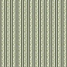 Penny Rose Fabrics - Anne of Green Gables Christmas - Stripe Green