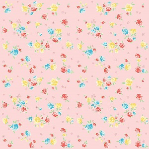 Penny Rose Fabrics - Bunnies and Blossoms Blossoms Pink