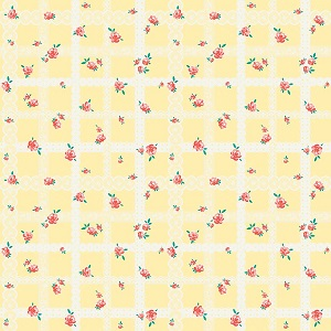 Penny Rose Fabrics - Bunnies and Blossoms Lace Yellow