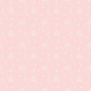 Penny Rose Fabrics - Bunnies and Blossoms Floral Pink