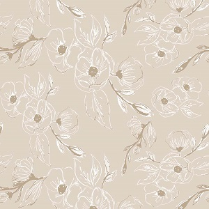 Riley Blake Designs - Grandale Carnation Tan *** PREORDER ARRIVING MAY ***