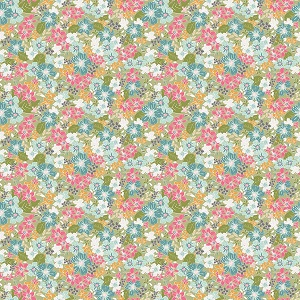 Riley Blake Designs - Grandale Floral Green *** PREORDER ARRIVING MAY ***