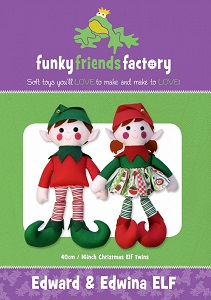 Funky Friends Factory - Edward & Edwina Elf