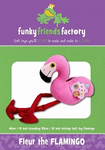 Funky Friends Factory - Fleur the Flamingo