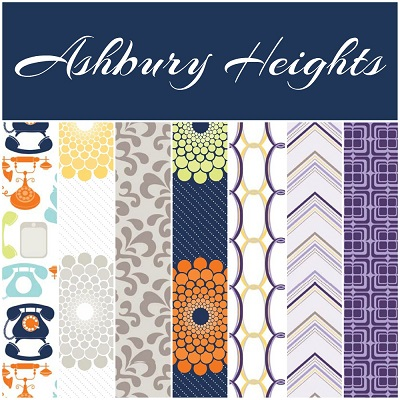 Riley Blake Designs - Ashbury Heights - Fat Quarter Bundle of 21 Pieces