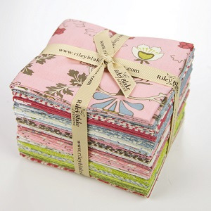Riley Blake Designs - To Norway With Love - Fat Quarter Bundle of 21 Pieces