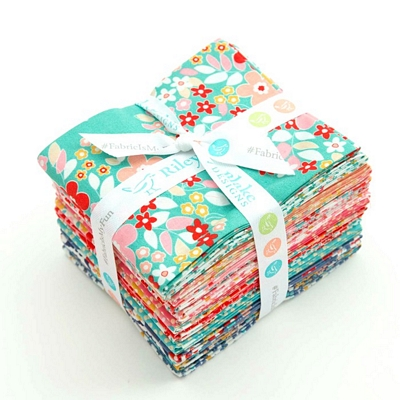Riley Blake Designs -  Forget Me Not - Fat Quarter Bundle of 18 Pieces