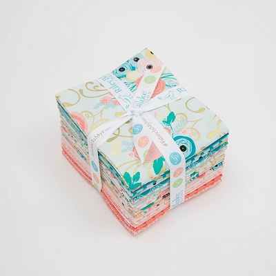 Riley Blake Designs - Just Sayin' - Fat Quarter Bundle of 18 Pieces