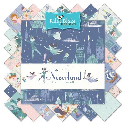 Riley Blake Designs - Neverland - Half Metre Bundle of 18 Pieces