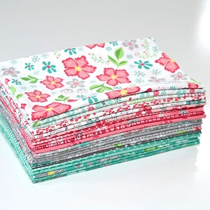 Riley Blake Designs - Flora & Fawn - Half Metre Bundle of 21 Pieces