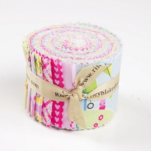 Riley Blake Designs - Sweet Home - 2.5 Inch Rolie Polie 18 Pieces