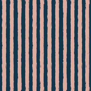 Riley Blake Designs - Blush Stripe Blue Sparkle *** PREORDER ARRIVING APRIL ***