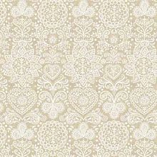 Andover - Scandi Christmas - Lace in Gold *** REMANNT PIECE 86CM X 112CM ***