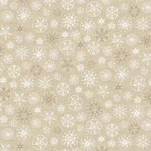Andover - Scandi Christmas - Snowflakes in Gold