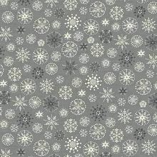 Andover - Scandi Christmas - Snowflakes in Silver