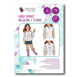 Tadah Patterns - Free Spirit Blouse & Tunic