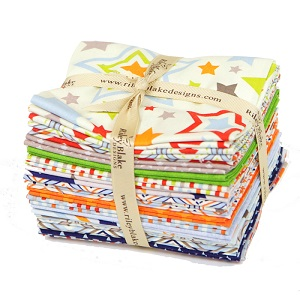 Riley Blake Designs - One For The Boys - Fat Quarter Bundle of 18 Pieces