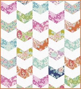 Jaybird Quilts - Giggles in Tilda Sunkiss Baby Quilt Kit