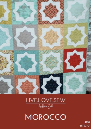 Live Love Sew by Keera Job - Morocco Quilt Pattern