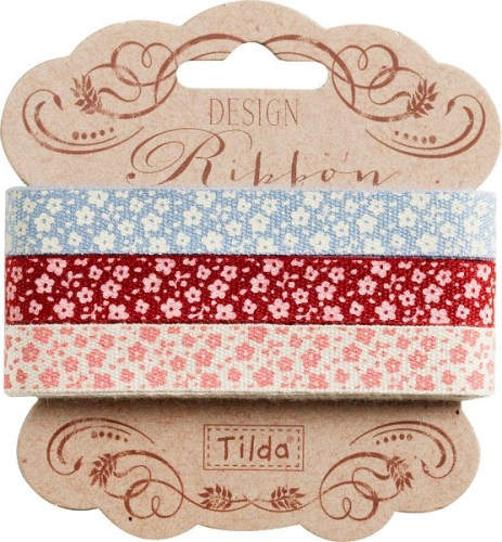 Tilda - Sweetheart set of 3 Ribbons