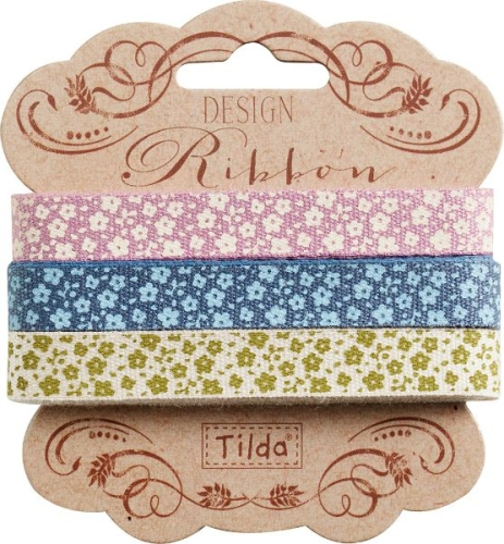 Tilda - Autumntree set of 3 Ribbons