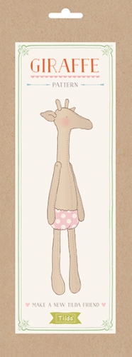 Tilda Friends - Giraffe Softie Pattern