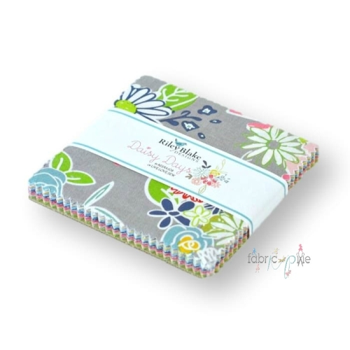 Riley Blake Designs - Daisy Days - 5 Inch Stacker 42 Pieces