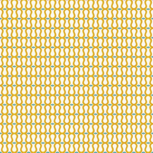 Riley Blake Designs - Unforgettable - Wallpaper in Yellow *** REMNANT 2.5 METRE PIECE ***