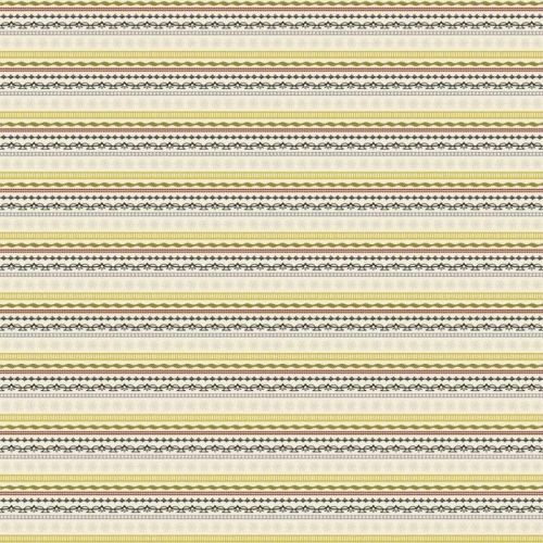 Riley Blake Designs - Lost and Found Christmas Stripe in Green
