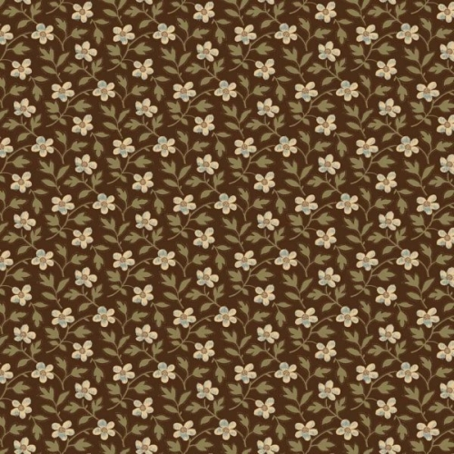 Penny Rose Fabrics - Penelope Floral in Brown